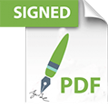 Signed PDFs